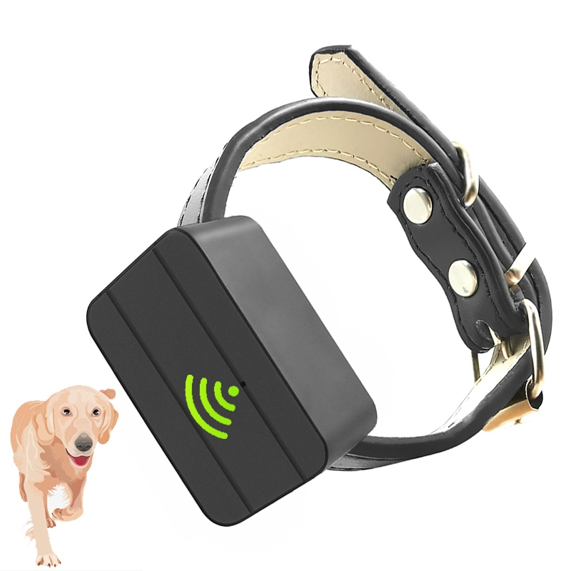 Dogs Pet Mini GPS Tracker Locator Anti-Theft Trackers Anti-Lost Recording Tracking Device Voice GSM GPRS WIFI for 7 Days