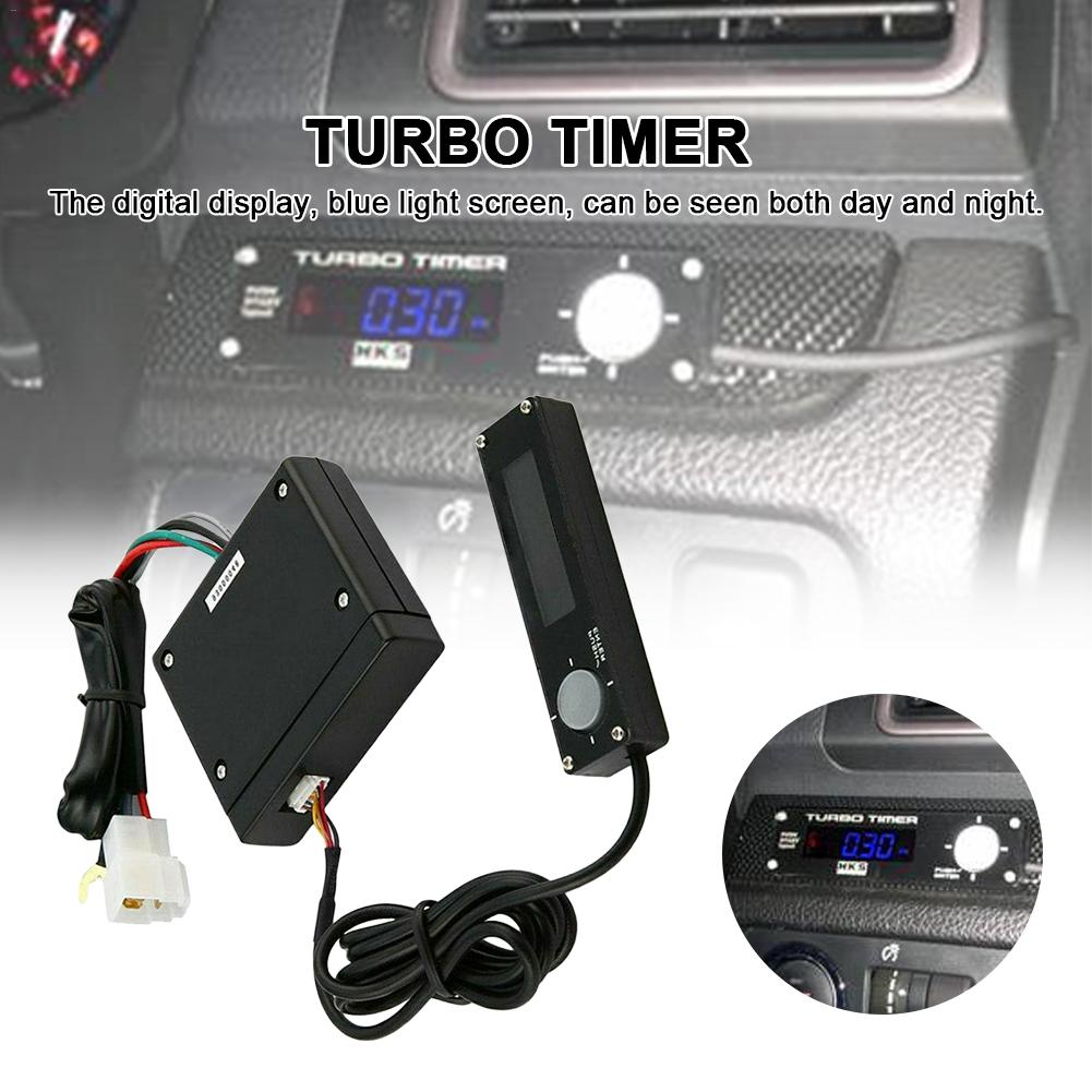 Car Digital Display Flameout Delayer Turbo Tmer Turbine Stall Delay Timer Turbine Protector Delayer Delay Extinguisher Blu ray|Electronic Ignition| |  - title=