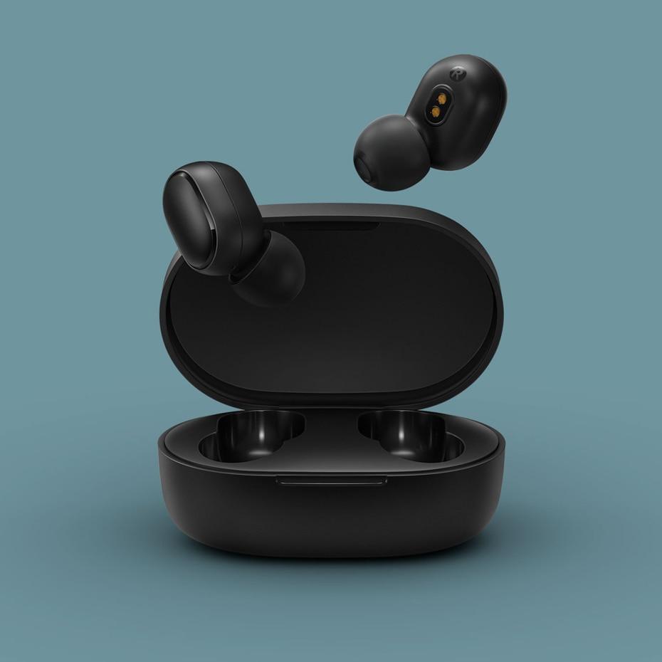 In Stock Original Xiaomi Redmi Airdots TWS Wireless Headset Bluetooth 5 0 Stereo Earphone in Phone Earphones Headphones from Consumer Electronics