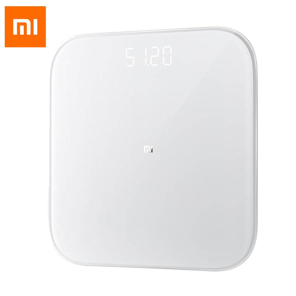 Image 2 - Original Xiaomi Smart Weighing Scale 2 Bluetooth 5.0 Mifit APP Control Precision Health Weight Scale LED Display Digital Scale-in Smart Remote Control from Consumer Electronics