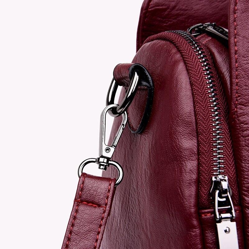 Weav mão genuíno bolsas de couro de