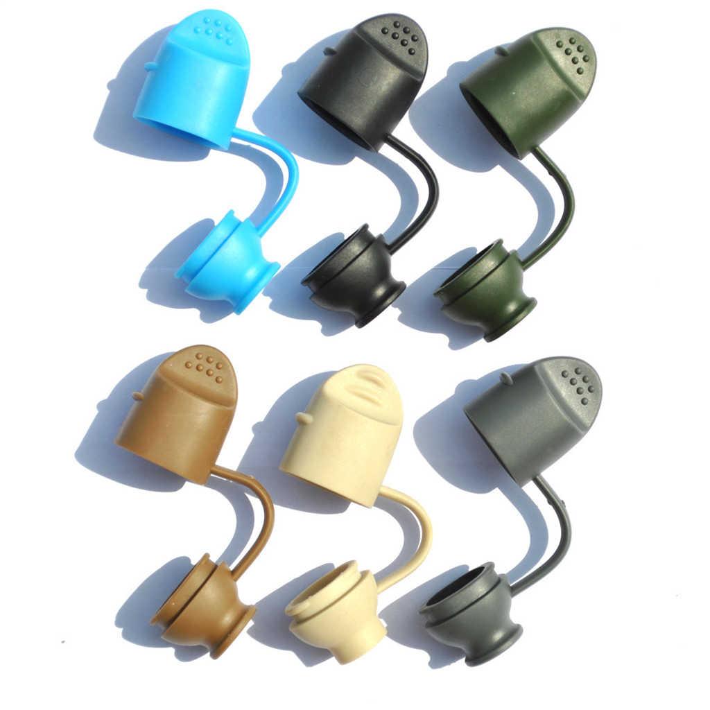 6pcs Mix Color Water Bladder Bite Valve Cover Hydration Pack Mouthpiece Cap