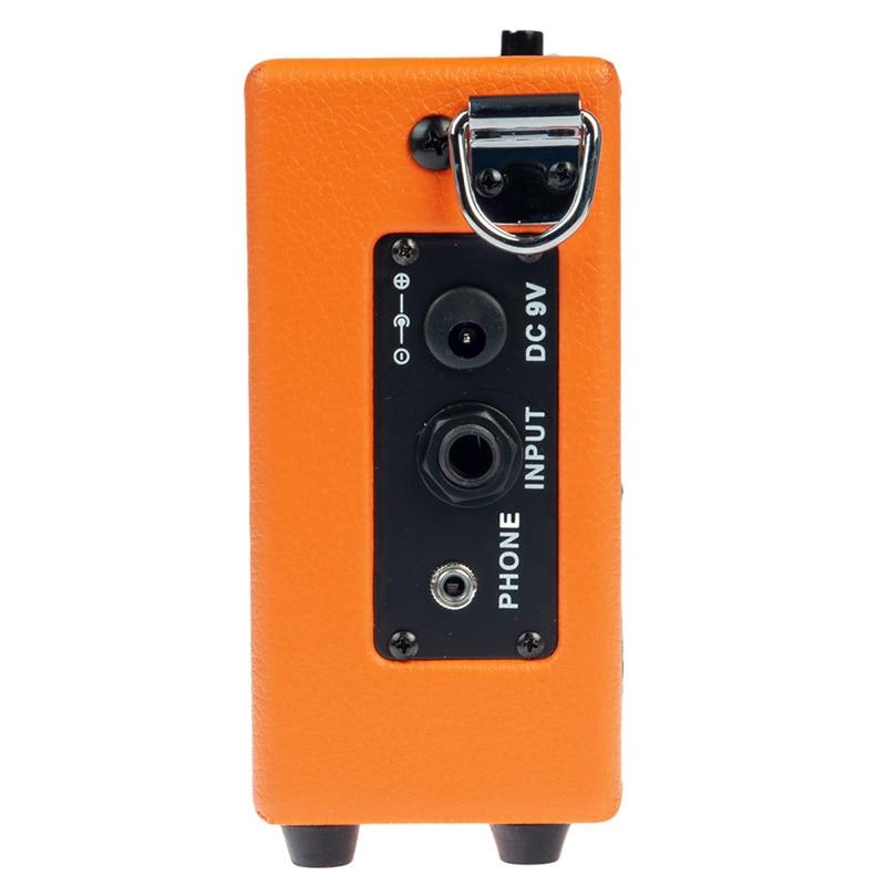 Naomi Amplifier Mini Amp Amplifier Speaker for Acoustic/ Electric Guitar Ukulele High-Sensitivity 3W Guitar Parts Accessories