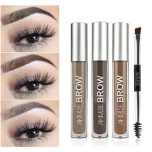 Eyebrow Gel Cream Waterproof Dye Henna Tattoo Pencil Shadow Long Lasting Cosmetic Enhancer