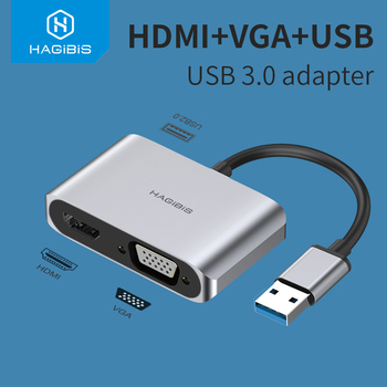 HDMI Converter Audio Video Cable for windows 7/8/10 OS