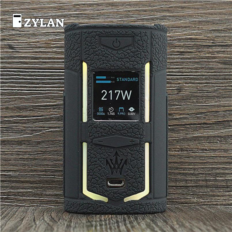 ZYLAN Case for <font><b>VooPoo</b></font> <font><b>X217</b></font> 217W TC Box Mod Protective Silicone Sleeve Full Cover for <font><b>VOOPOO</b></font> Woody <font><b>X217</b></font> Vape image