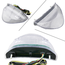 Integrated Clear LED Tail Light Turn Signals for Honda 2006 2010 CB600F Hornet Parts Accessories Manufacturer