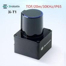 Exterior 3irobotix lidar scanner tof ao ar livre evitar obstáculos variando sensor de planejamento de caminho interação de tela grande 20m