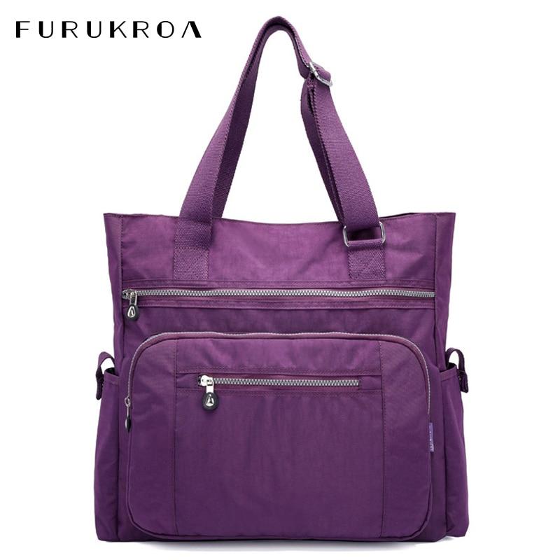 Hot High Capacity Travel Tote Bag Waterproof Woman Handbag Brand Women's Shoulder Bag Female Zipper Diaper Bag Pouch XA656WB