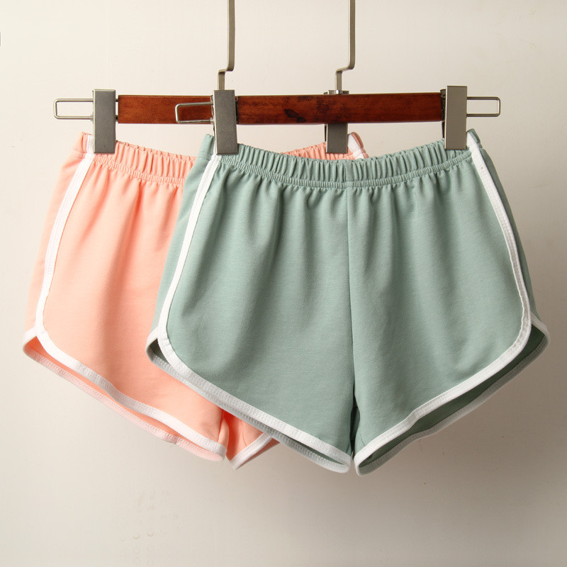 Casual Elastic Waist Cotton Shorts Women Summer High Waist Shorts 2020 Harajuku Ladies Shorts Spodenki Damskie Harajuku