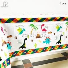Garçons enfants 2019 nouveau Dino thème nappe Table couverture fête danniversaire vaisselle ballon bonbons boîte drapeau plaque tasse fournitures