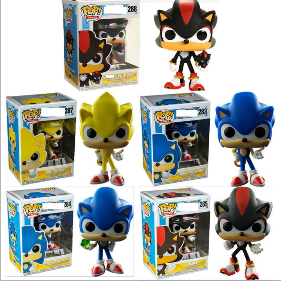 Funko Pop Super Sonic Sonic With Ring Emerald Shadow Collectible Model 2020 Action Figure Kids Toys Action Toy Figures Aliexpress