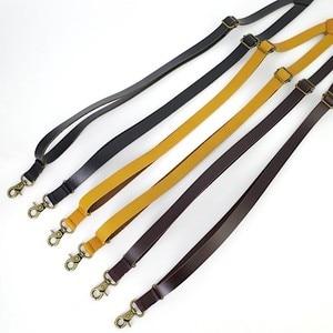 Image 3 - 1.7 centimetri di trasporto di Alta qualità reale della pelle bovina spaccato della cinghia di cuoio degli uomini Delle Donne unisex Gancio bretelle