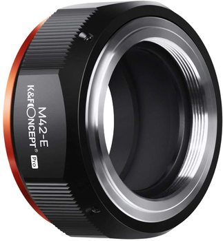 K&F Concept M42-NEX PRO Lens Mount Adapter M42 Lens to NEX E-Mount Camera New in 2020 High Precision Lens Adapter