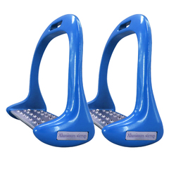 1 Pair Equipment Thickened Aluminium Alloy Anti Slip Treads Pedal Outdoor Sports Riding Equestrian Safety Horse Stirrups Durable
