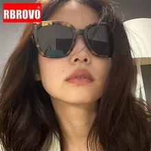 RBROVO 2020 Square Retro Sunglasses Women Luxury Brand Glasses Women/Men Small Eyeglasses Women Mirror Oculos De Sol Feminino