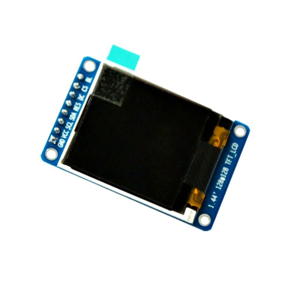 "1.44"" Inch SPI HD Full Color TFT LCD OLED Display Screen Module 128x128 65K for Arduino Driver IC ST7735S Display Equipment 15g"