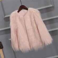 Chaqueta de piel sintética de invierno chaqueta de piel de las mujeres Streetwear abrigo de piel rosa chaqueta mullida Vintage abrigo peludo chaqueta borrosa chaquetas suaves 2020