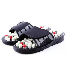 купить Men Summer Shoes Slippers Massage Acupoint Health Accupressure Chinese Rotative Foot For Women Of Men по цене 911.19 рублей