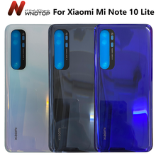 Original Note10 Lite Battery Cover For Xiaomi Mi Note 10 Lite Battery Cover Door Replacement Hard Back Case Rear Housing Cover