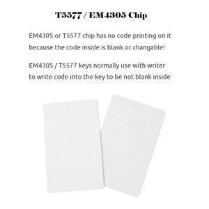Image 2 - Tarjeta en blanco EM4305 T5577, Chip RFID, 125 khz, copia regrabable, reescritura duplicada, 125 khz