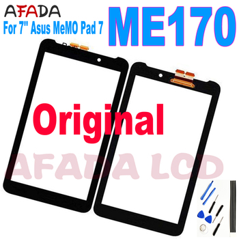 Original For Asus Fonepad 7 ME170 FE170CG ME170CG K012 k017 Digitizer Touch Screen Panel Sensor Glass Replacement Not LCD Displa 7 0 black touch screen sensor digitizer glass panel replacement for asus fonepad 7 fe375cg fe7530cxg me375 free shipping