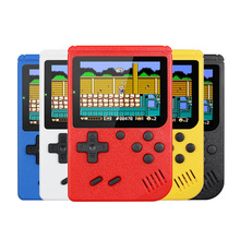 Retro Console Double Handheld Game Player Battery 3.0 Inch LCD Built-in 400 Video Games Gift for Kids Classic Videoconsolas
