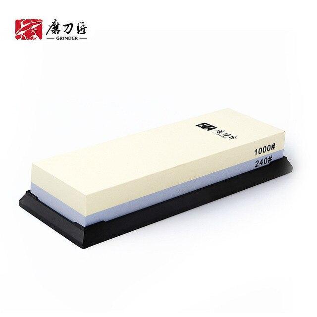 그라인더 전문 일본 샤프닝 스톤 240 1000 나이프 그릿 숫돌 워터 스톤 듀얼 숫돌 TG6124