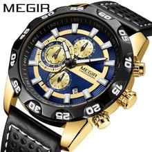 Men Watch Luxury Top Brand Business Male Clock Quartz-wristwatch Leisure Leather Quartz Waterproof Shockproof  Wristwatch цена