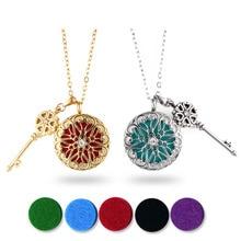 Твист открытый эфирное масло диффузор ожерелье для женщин серебро золото розовое золото черный медальон 316L нержавеющая сталь духи кулон