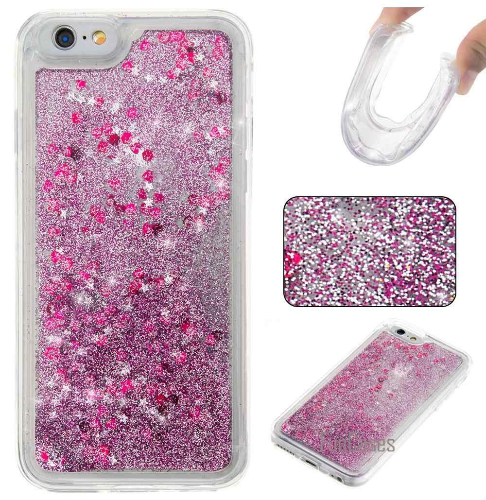 Dynamic Liquid Glitter Case for fundas iPhone 5s SE 6 Plus Case for coque iPhone 5 q50