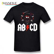 Muppets T Shirt Animal Drummer ACDC T-Shirt Short Sleeves Plus size  Tee Men Graphic Cute 100 Cotton Classic Tshirt