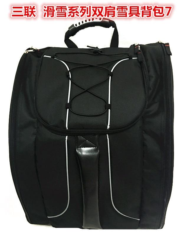 Large Capacity Skiing Boots Bag Snow Boots Bag Shoulder Backpack Helmet Storgage Bag Ski Bag Snowboard Ski Bag