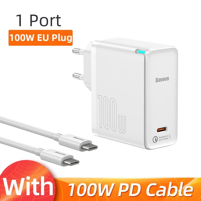 EU Plug 1 port White
