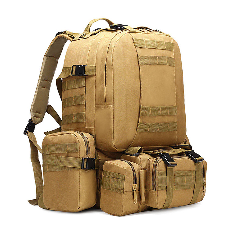 H587bce703b9c490d909c9e3a61443173U - 50L Tactical Backpack,4 in 1 Military Backpack,Army Molle Outdoor Sport Bag,Men Camping Hiking Travel Climbing Backpack Tactical