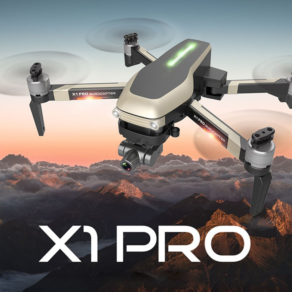 X1 PRO GPS Drone 4K ZOOM Camera Four-axis Aircraft Self-stabilizing Gimbal 5G WIFI RC Quadcopter Helicopter drones toys