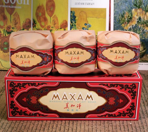Maxam Sandalwood Whitening Skin Moisturizing Cleansing Exfoliating  Bathing Soaps