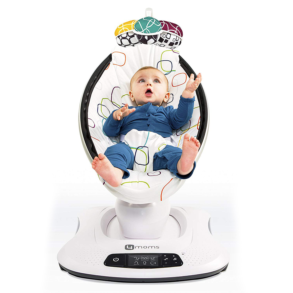 Super Luxury Electric Rocking Chair To  Artifact Baby Rocking Chair To Comfort Cradle Bed  Baby Electric Cradle Rocking