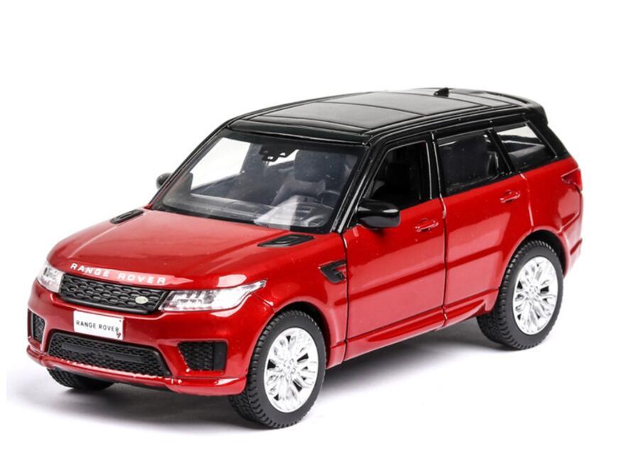 1:36 Vehicles Hot Wheel Car Land Rover Range Rover Machine Diecast Toy Model Metal Body