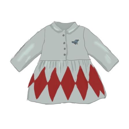 Toddler Girl Dresses Baby Girls Clothes 2021 New Autumn Kids Fashion Brand A-line Dress Children Pattern Princess Thanksgiving 5