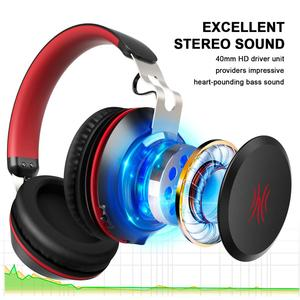 Image 3 - Oneodio Bluetooth Headphone With Microphone Sport Wireless Headset Bluetooth 5.0 Over Ear Stereo Bass Headphones Handsfree Calls