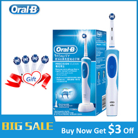 Oral B Electric Toothbrush 2D Clean Rotating Toothbrush Rechargeable Toothbrush Teeth Dual Clean Brush Heads