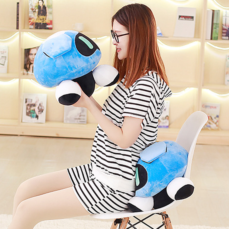 40cm Overwatches Plush Cushions Toys Overwatching Blizzcon Mei Stuffed Pillow Dolls Cartoon OW Cosplay Plush Toy Girls Boys Gift 3