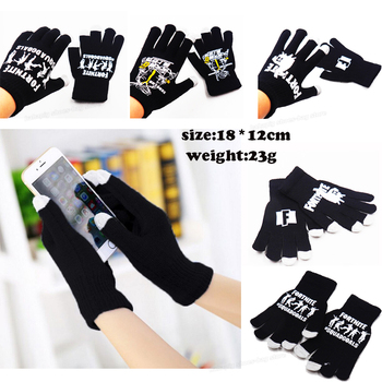 Fortnites Gloves Men Winter Plush Gloves Mittens Fortress Thermal Knitted Gloves Student Touch Screen Gloves Riding Skiing Glove 1