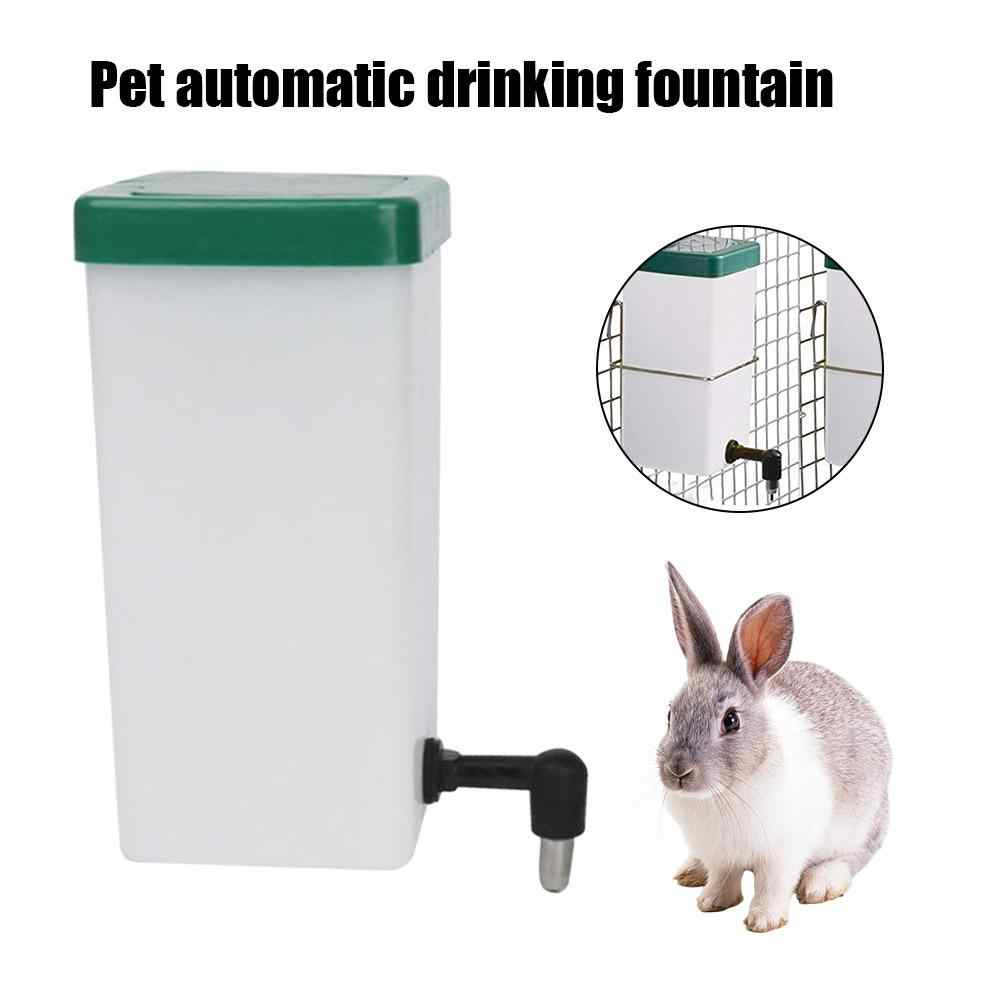 Plastic Hamster Drinker Pet Automatic Water Bottle Dispenser Feeder Hanging Pet Dog Guinea Pig Squirrel Rabbit Drinking Fountain
