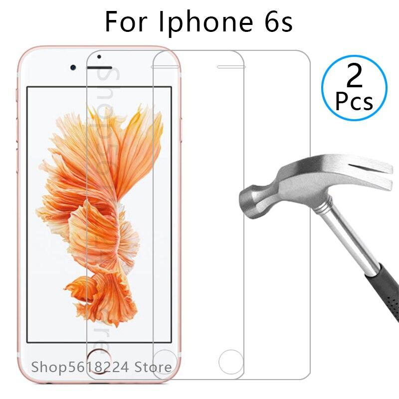 Original vidro protetor de tela de vidro protetor de vidro para iphone 6s temperado em i telefone 6 s s6 iphone 6 s filme iphon aphone um iphone 4.7