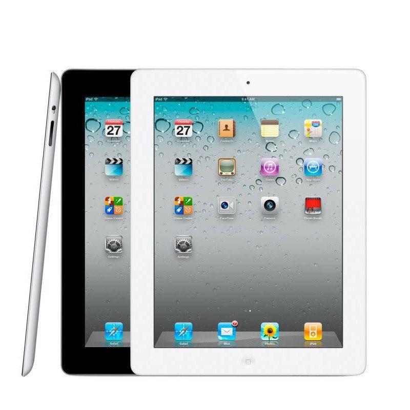 (Used Ipad)Apple IPad 2 16GB 32GB Black/ White | Wi-Fi Only | Bundle:Case& Rapid Generic Charger