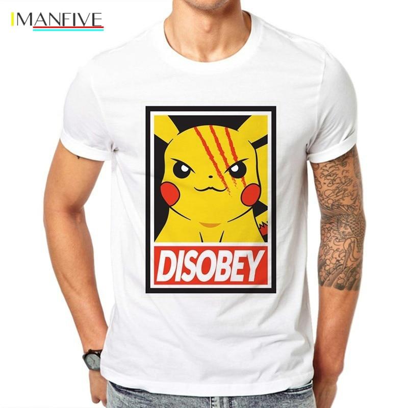 Pokemon Anime Pikachu Kid Goku Cute Cool Kids Boys Youth Teen Tee T-Shirt Cotton