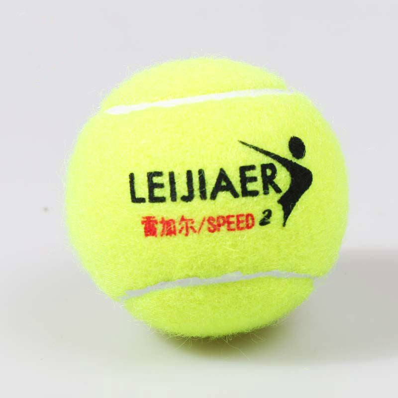 Chinese Wool Training Tennis Bulk Natural Rubber High Bouncing Practical Practice Tennis Practice Ball
