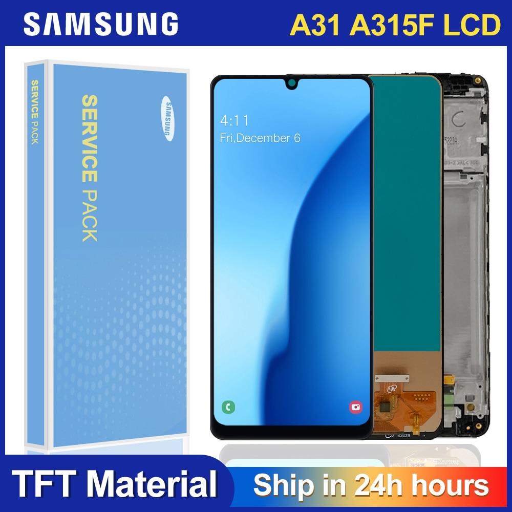 100% Test pour Samsung Galaxy A31 LCD écran tactile numériseur assemblée remplacement pour Samsung A315 A315F LCD |